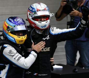 Foto Formule 1 coureurs: Een Topteam levert Topprestaties!